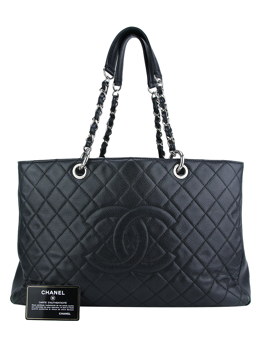 a219dafb0 Bolsa Chanel Grand Shopping Couro Caviar Grafite Original - DAE4 ...