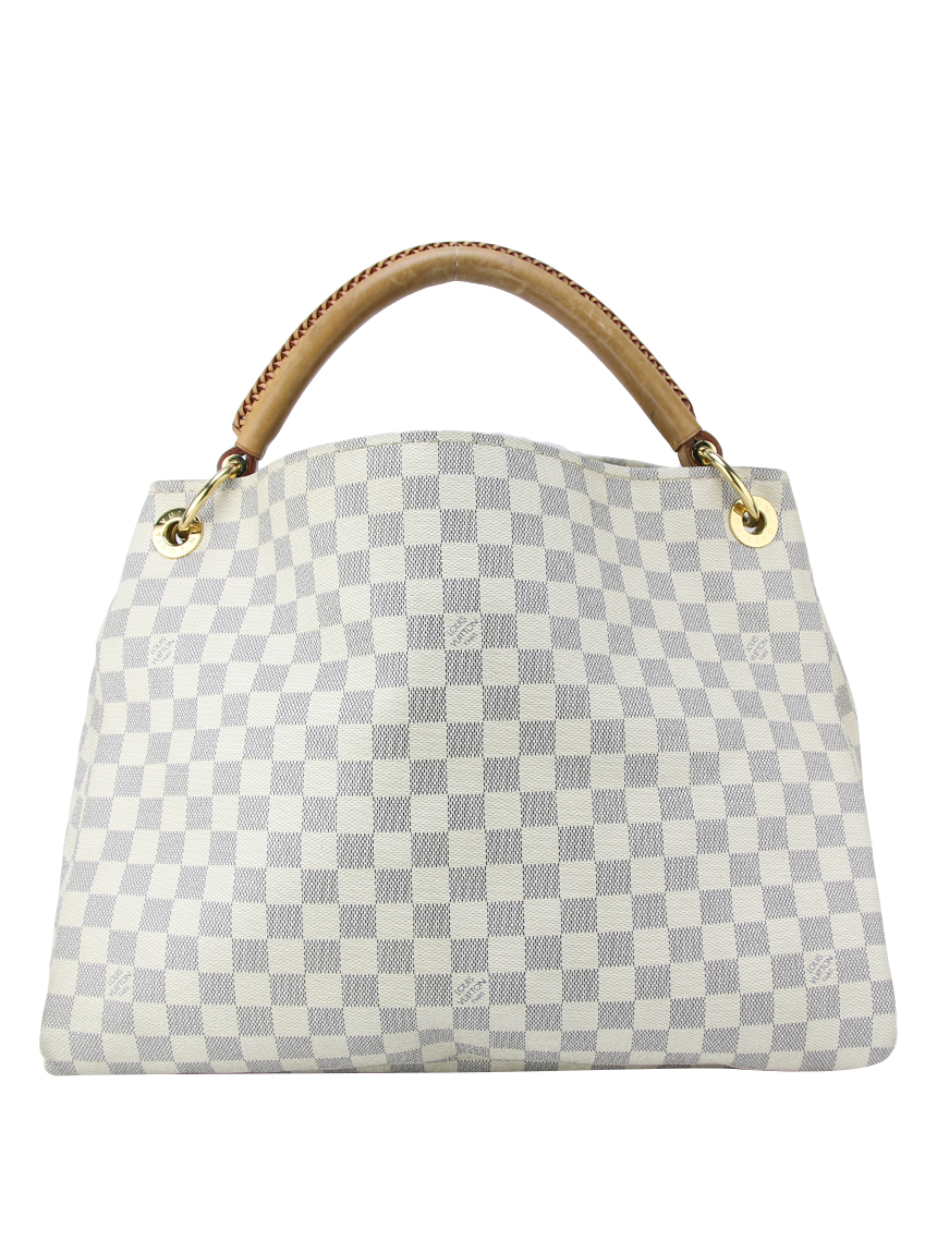 49b69f900 Bolsa Louis Vuitton Artsy Canvas Damier Azur Original - SE27 ...
