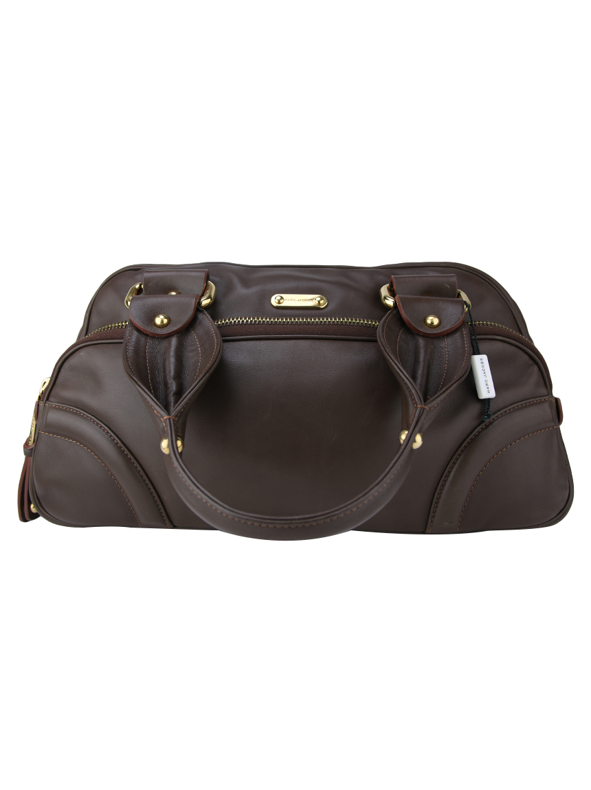 5150441ae4933 Bolsa Marc Jacobs Couro Chocolate Original - QF81