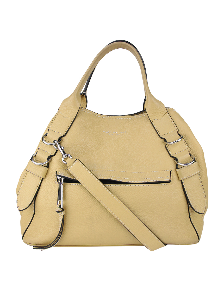 71635eec6 Bolsa Marc Jacobs The Anchor Couro Creme Original - DSU4 | Etiqueta ...