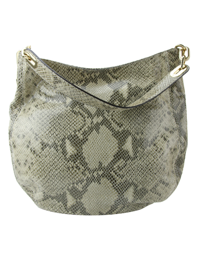 944774875 Bolsa Michael Kors Fulton Python Print Heather Hobo Bag Original ...