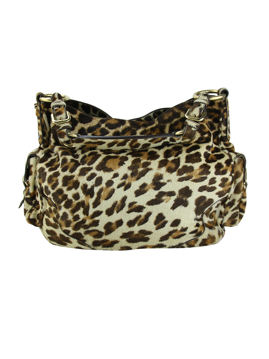 feb16eb1b Bolsa Prada Cavallino Animal Print Original - PJ203