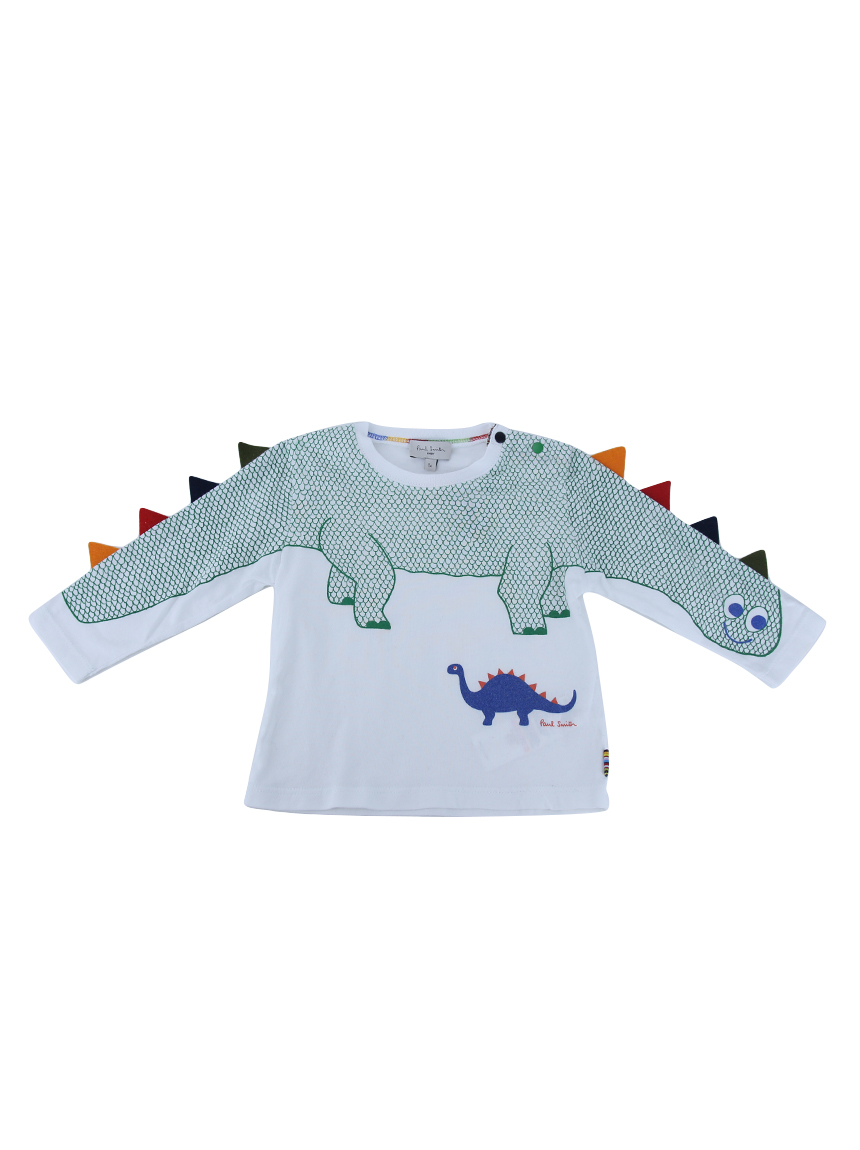 5ba861f553 Camiseta Paul Smith Dinossauro Infantil Original - DSK23