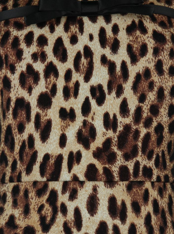 Vestido Moschino Regata Animal Print