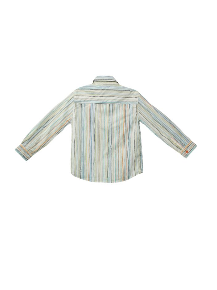 Camisa Paul Smith Junior Listrada Infantil
