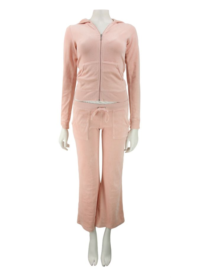 Conjunto Juicy Couture Plush Rosa