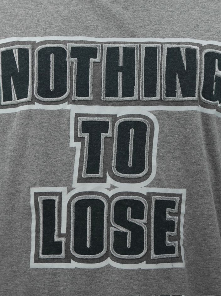Camiseta D&G Nothing To Lose Cinza Masculina