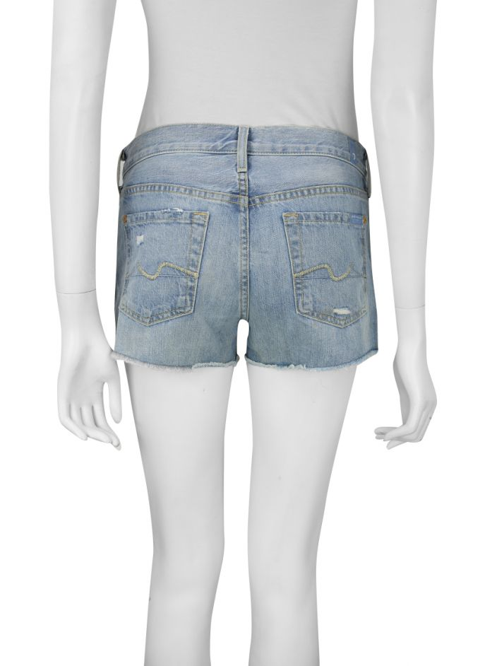 Shorts Seven For All Mankind Jeans Claro