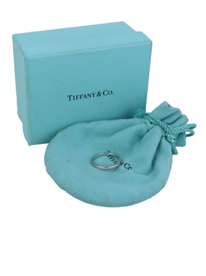Anel Tiffany & Co Diamante Platina