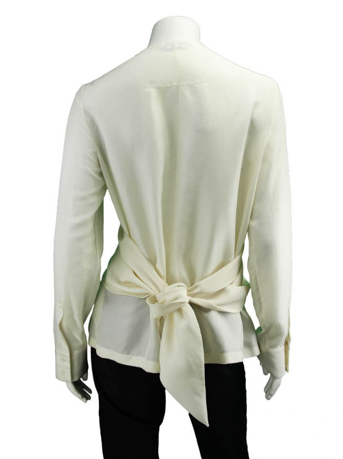 Blusa Givenchy Seda Off White