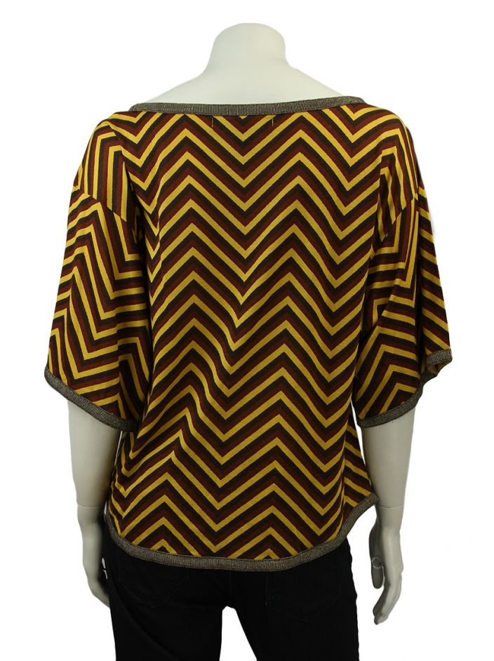Blusa Marc by Marc Jacobs Zig Zag