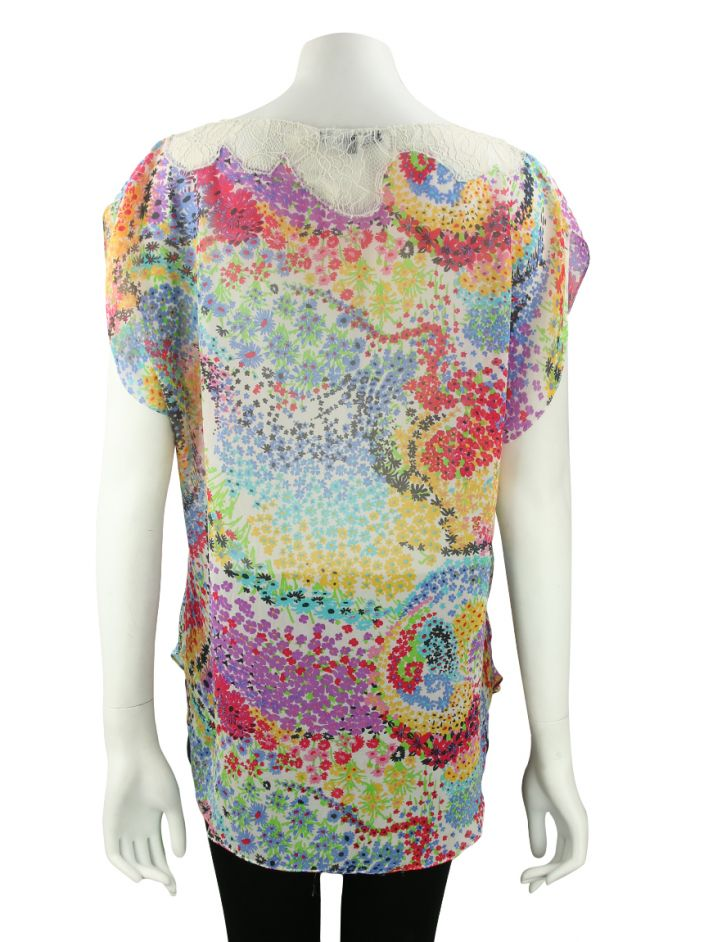 Blusa Mixed Estampa Colorida