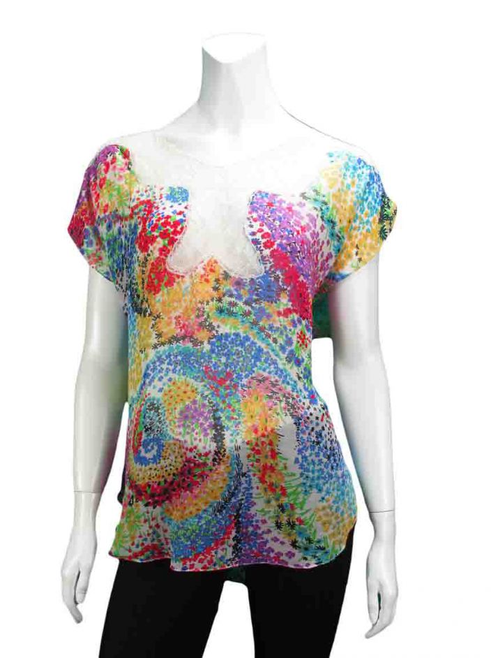 Blusa Mixed Floral