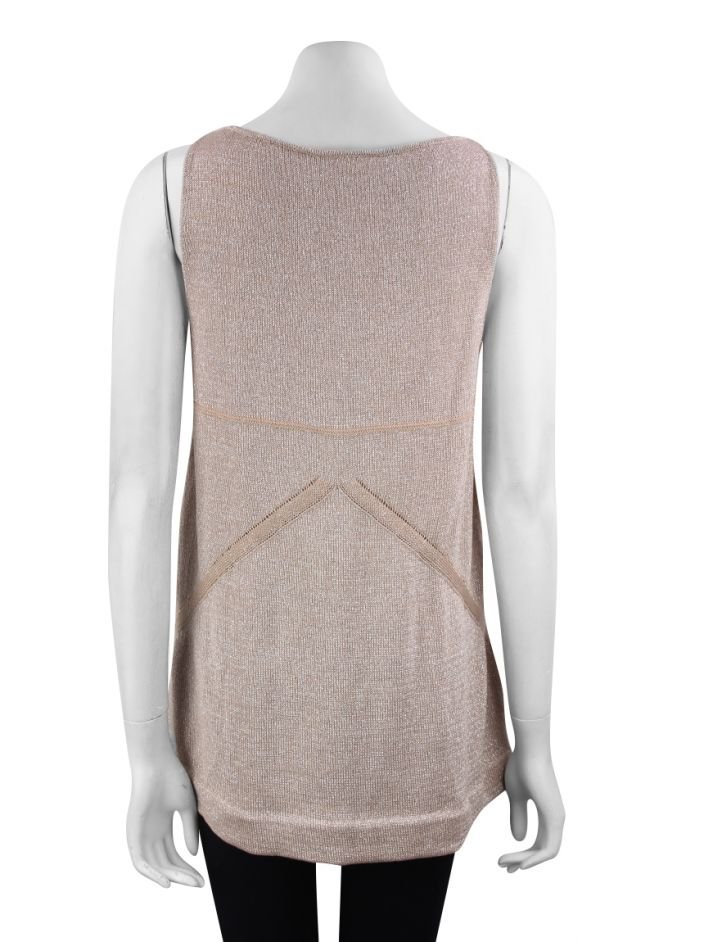 Blusa Mixed Tricot Metálico