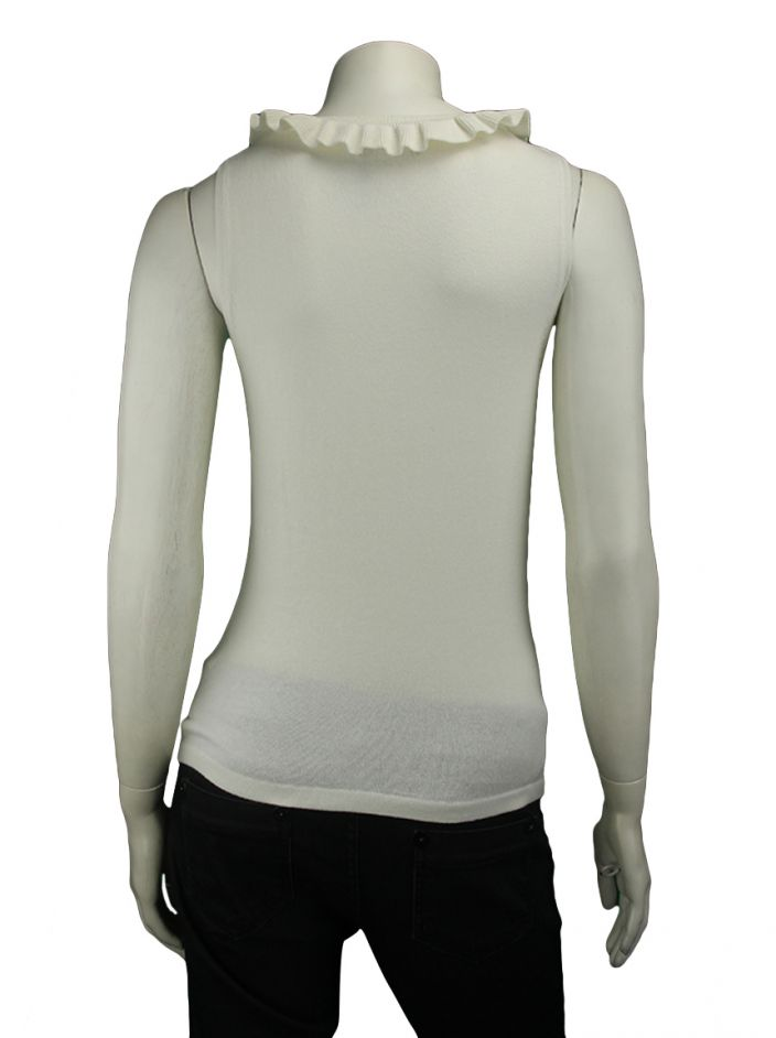 Blusa Mixed Tricot Off-White