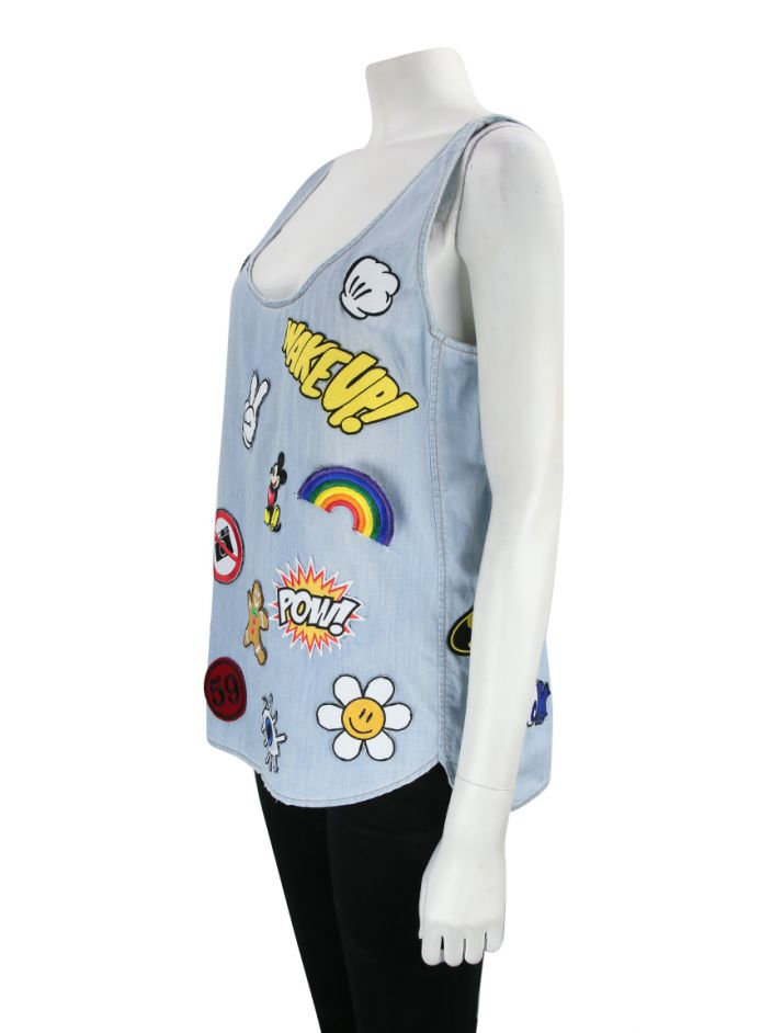Blusa N.Y.B.D Patches Jeans
