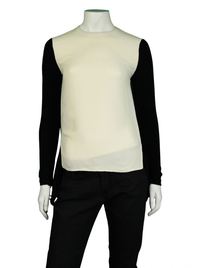 Blusa Stella McCartney Bicolor