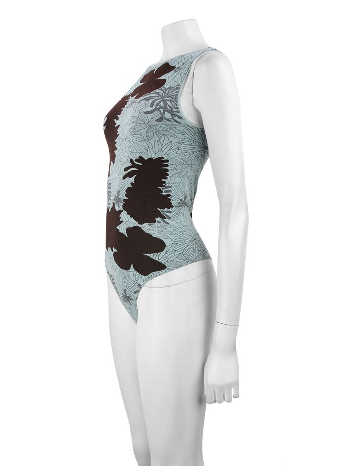 Body Wolford Tecido Floral