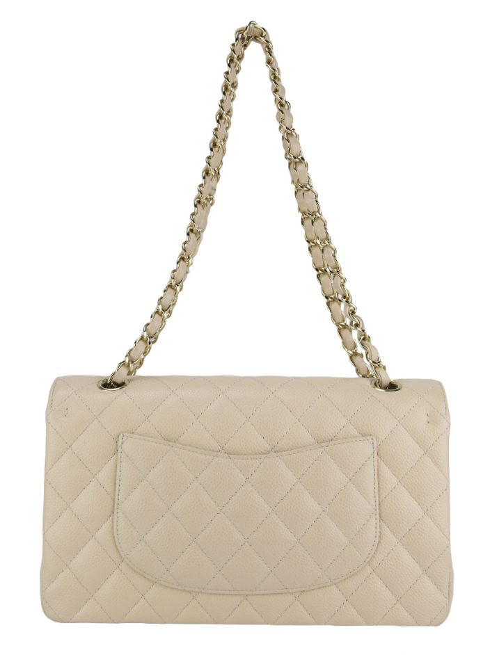 Bolsa Chanel Double Flap Caviar