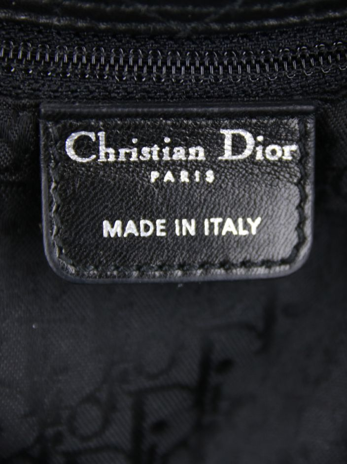 Bolsa Christian Dior East West Cannage