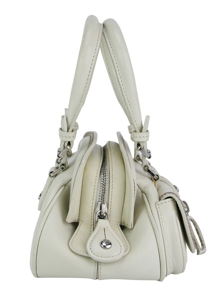 Bolsa Christian Dior Mini Detective Off White