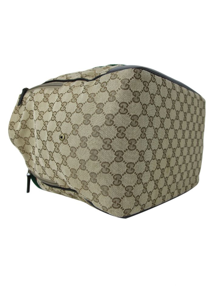 Bolsa Gucci Monogram Web Dog Carrier