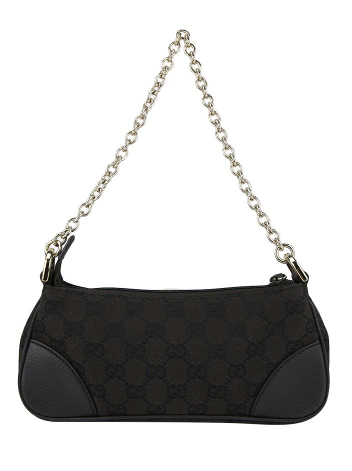 03dcd6929 Bolsa Gucci New Small GG Monogram Marrom Original - FCA1 | Etiqueta ...