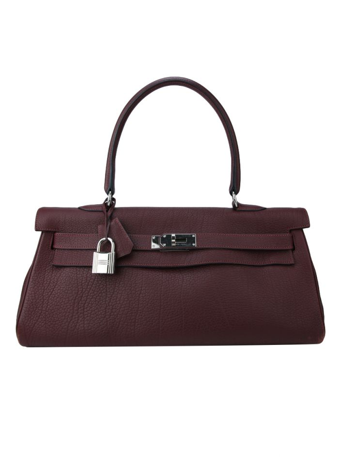 Bolsa Hermès Kelly Shoulder Uva