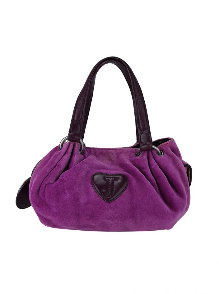 Bolsa Juicy Couture Plush Roxa