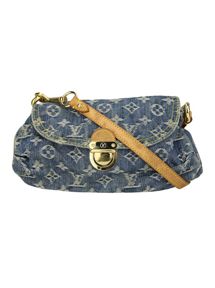 Bolsa Louis Vuitton Denim Pleaty Mini