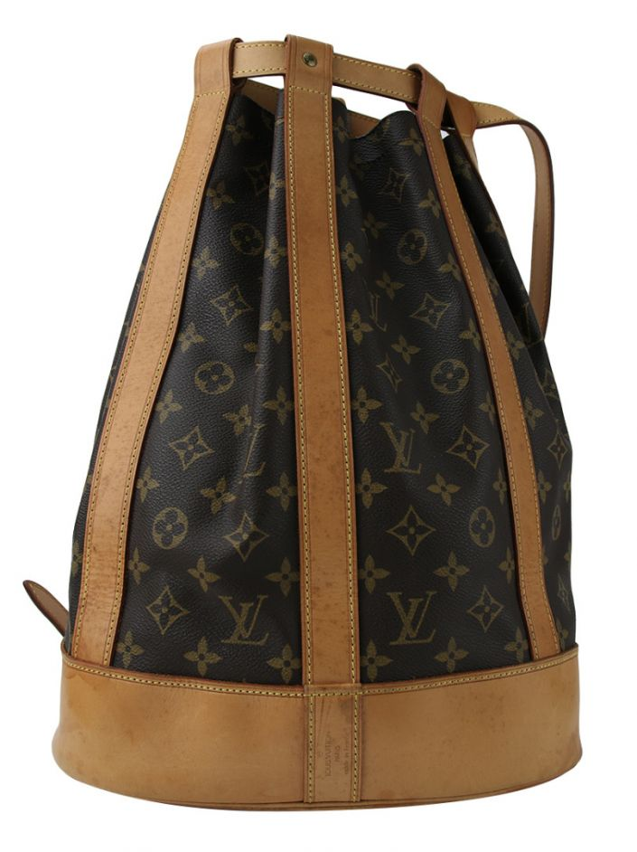 Bolsa Louis Vuitton Randonnee Canvas Monograma