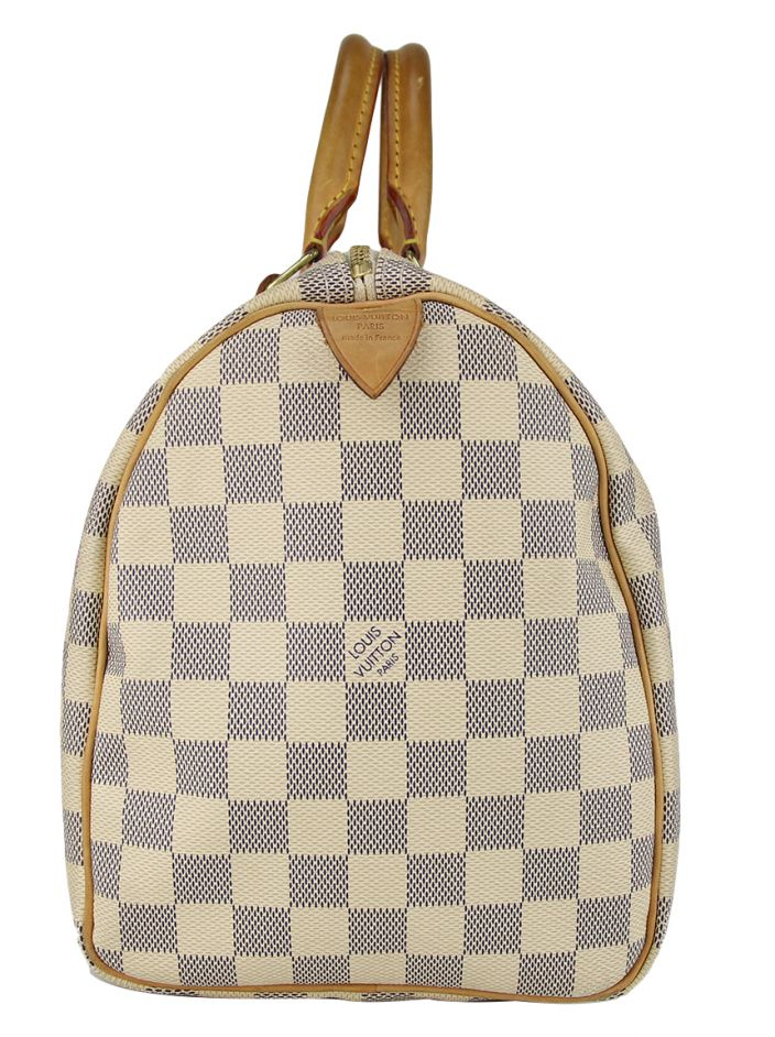 Bolsa Louis Vuitton Speedy 30 Damier Azur