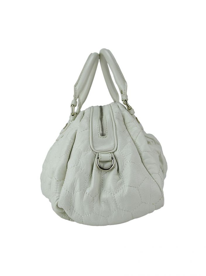 Bolsa Marc By Marc Jacobs Couro Branco