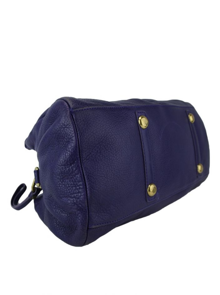 Bolsa Marc by Marc Jacobs Couro Roxo