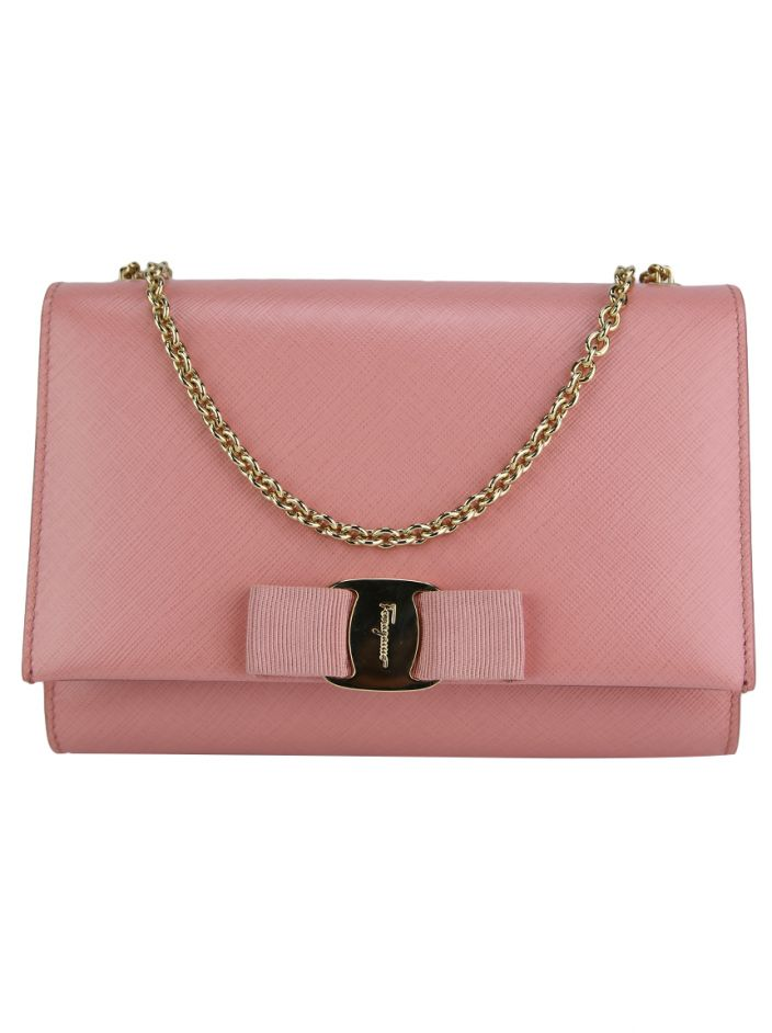 Bolsa Salvatore Ferragamo Miss Vara Mini Bag Rosa