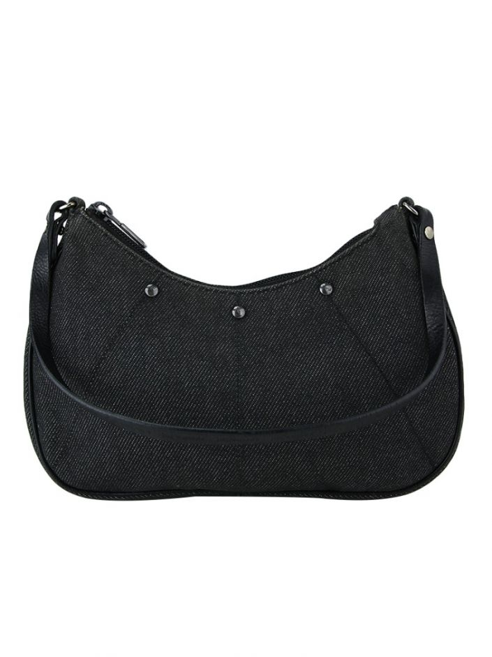 Bolsa Yves Saint Laurent Denim Preto