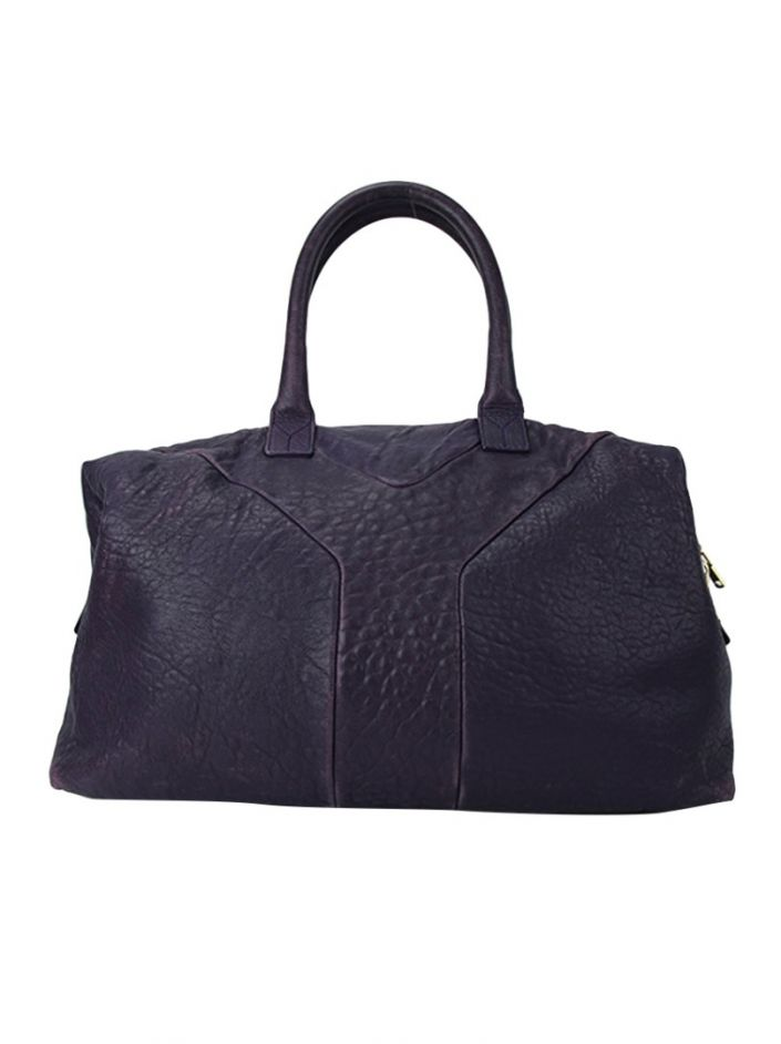 Bolsa Yves Saint Laurent Easy Roxa