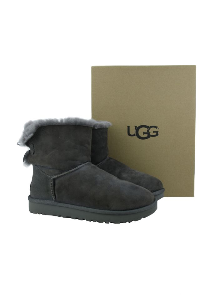Bota UGG Mini Bailey Bow ll Cinza