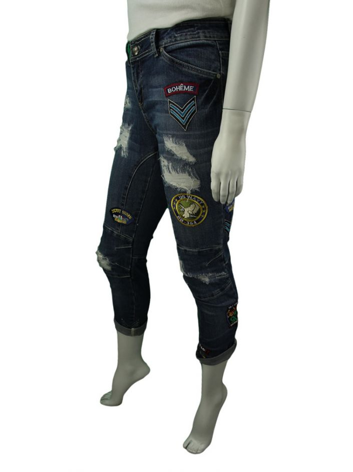 Calça Bo.Bô Jeans Patches