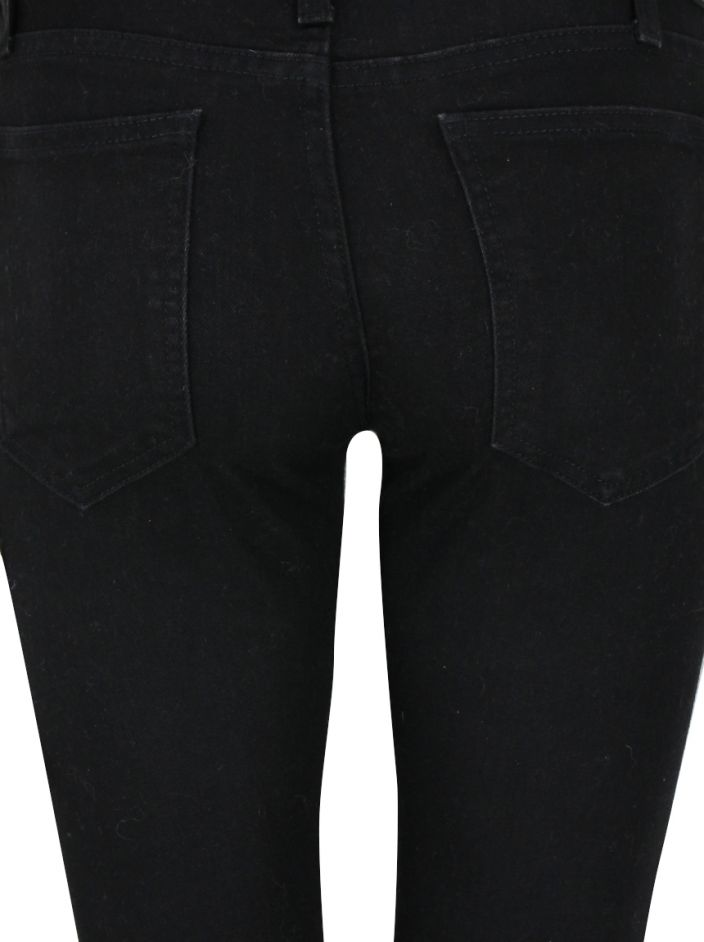 Calça Current Elliott The Low Bell Flare Preta