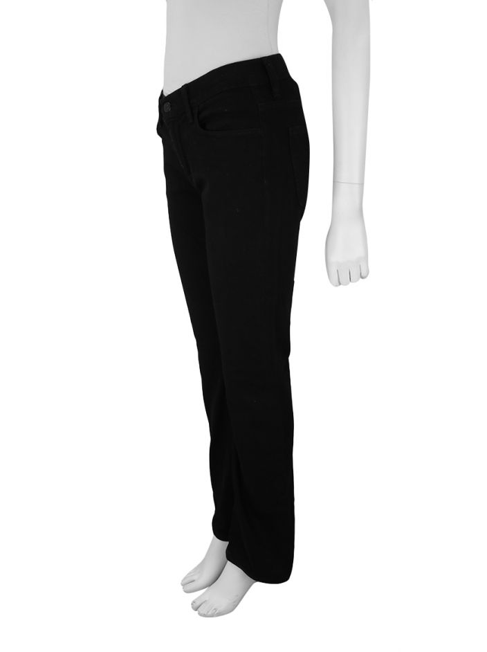 Calça Seven For All Mankind High Waist Bootcut Preto