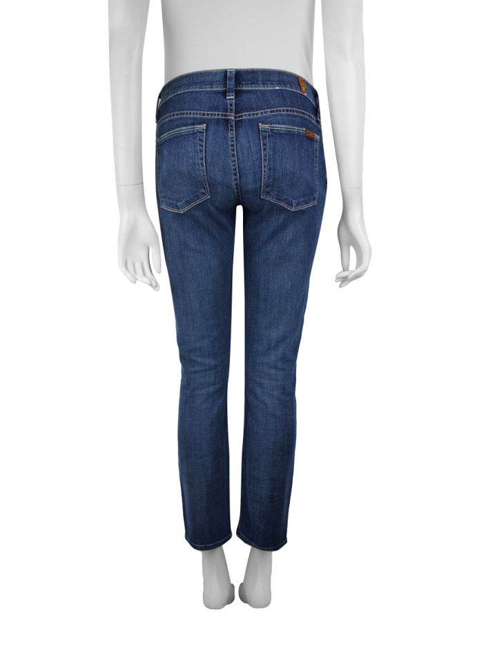Calça Seven For All Mankind Slim Straight Jeans