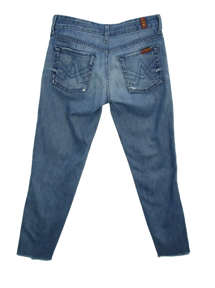 Calça Seven For All Mankind The Lexie Petit Jeans