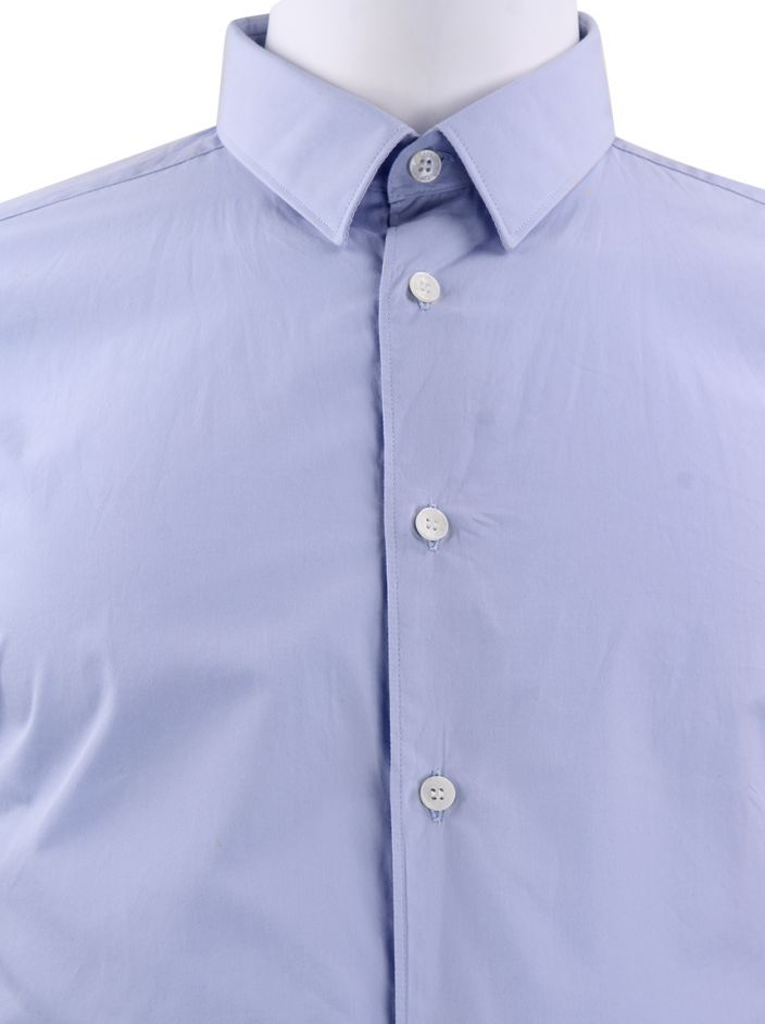 Camisa Versace Collection Tecido Azul