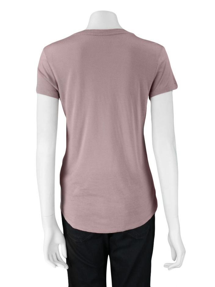 Camiseta Armani Exchange Rosê Estampada