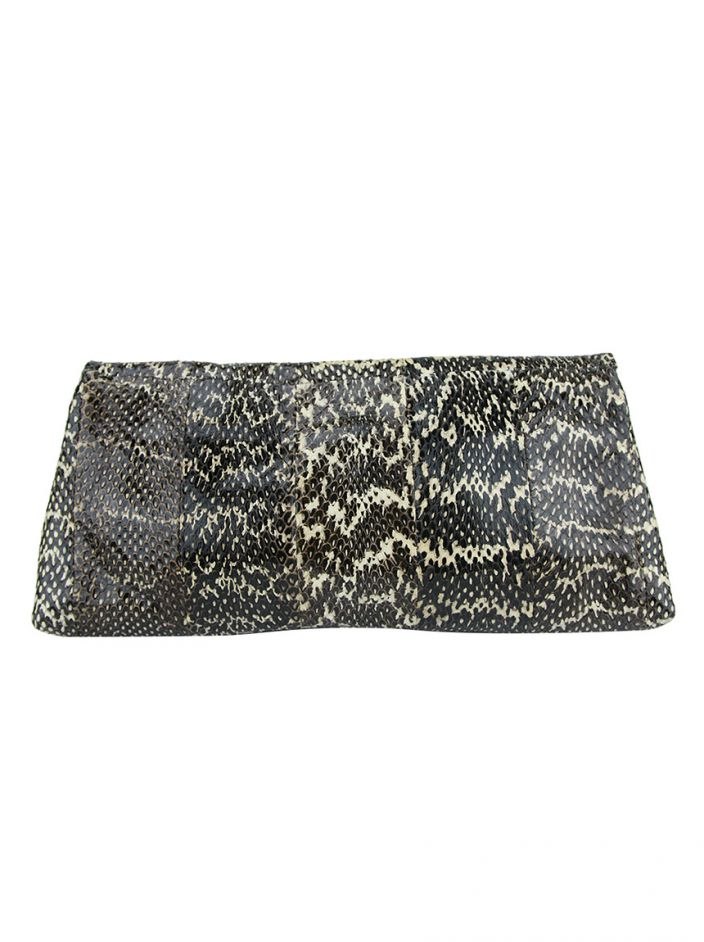 Clutch Alexander McQueen Faithful Glove Python