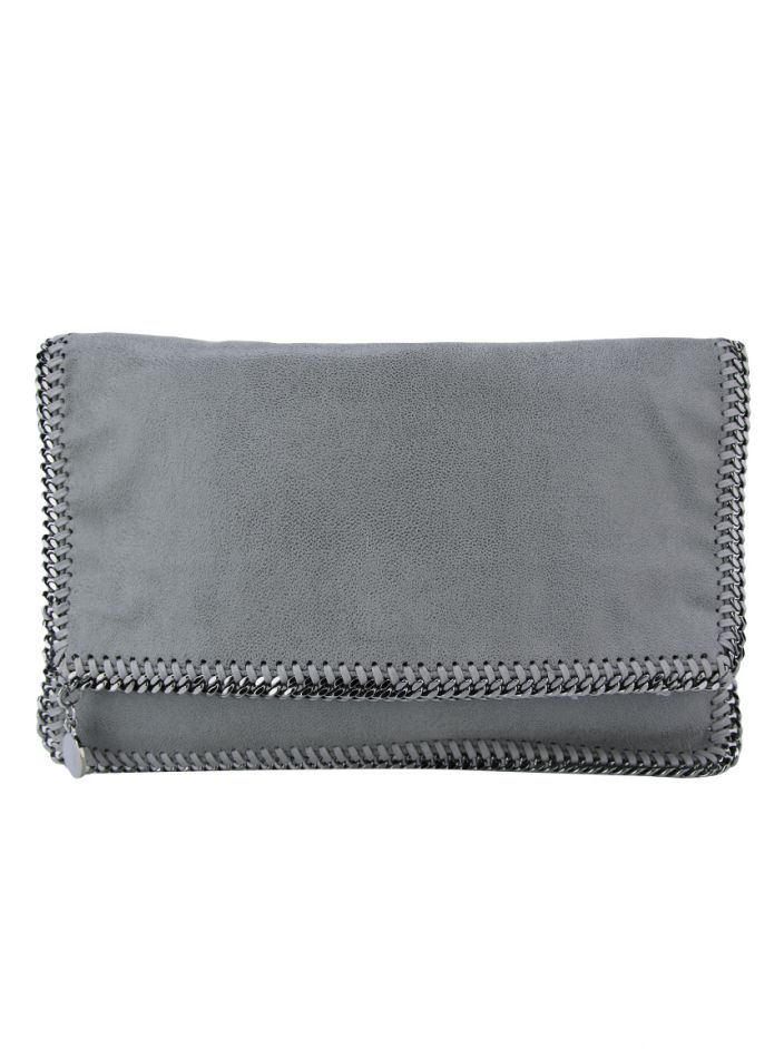 Clutch Stella McCartney Falabella Cinza