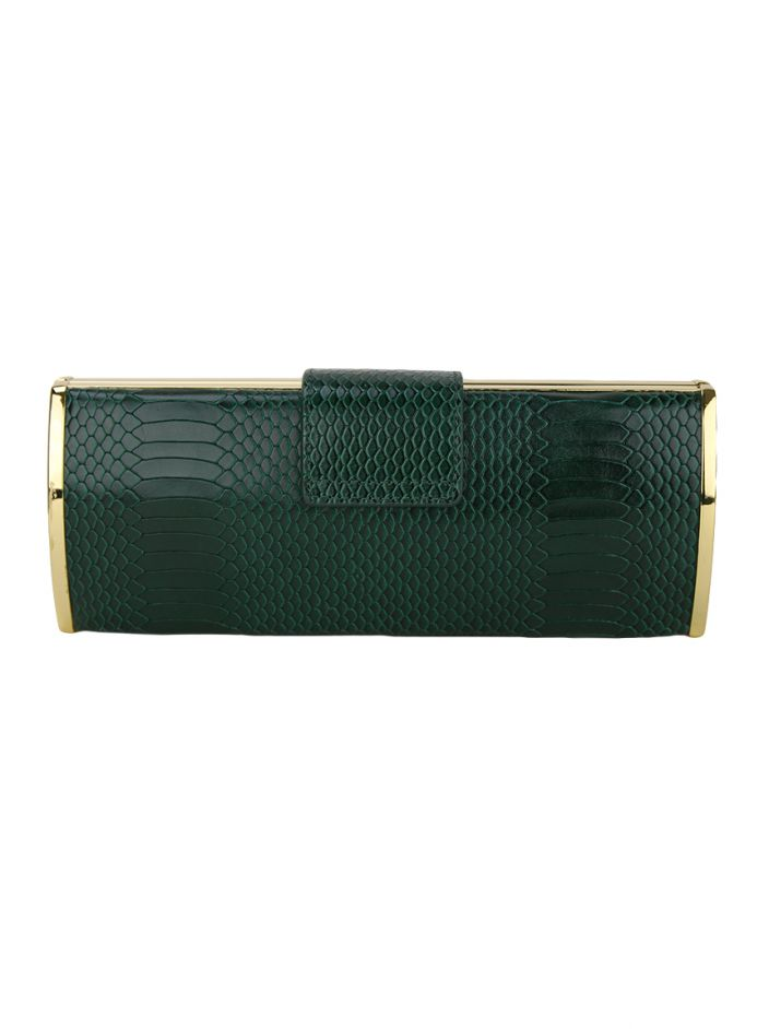 Clutch Tory Burch Roll Verde