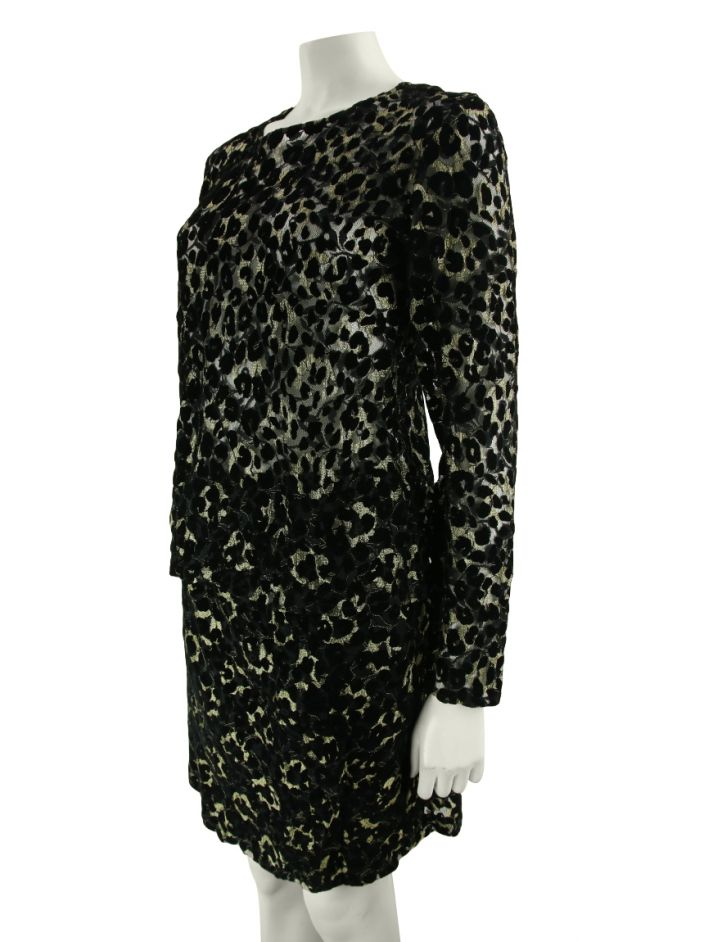 Conjunto Yves Saint Laurent Brocado Bicolor