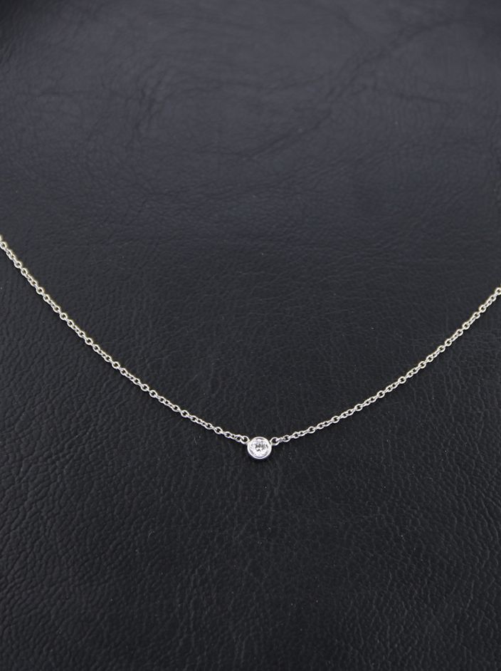 Colar Tiffany & Co Diamonds by The Yard Prata